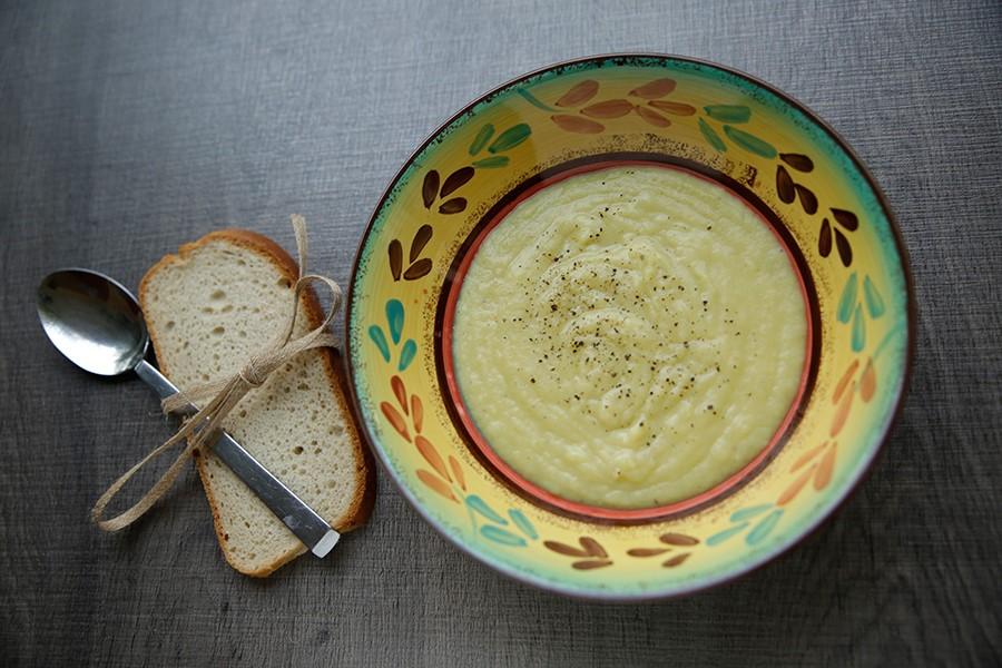 Sweet fennel soup