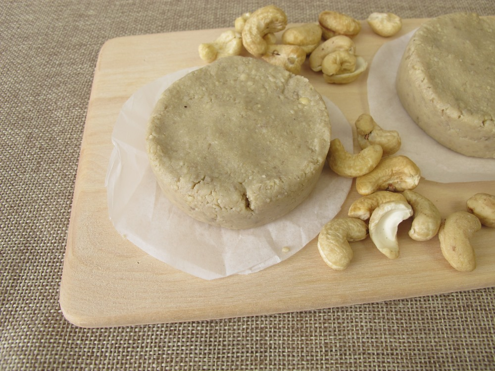 Homemade cashews cheese